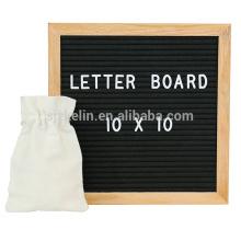 Hochwertiges Filzbriefbrett 10x10 mit 362 Buchstaben