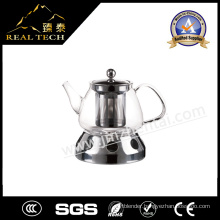 Family Use Modern Glass Teapot Borosilicate Potc with Stove