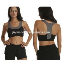 Cheerleading personalizado Push up Sports Bra para mulheres