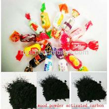 charbon actif en poudre à base de bois (PAC) pour la décoloration du sucre