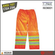 Высокой видимости водонепроницаемый безопасности брюки с Светоотражающая лента
