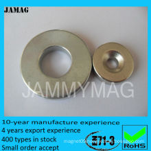 D18d5H3 neodymium disc magnet with hole