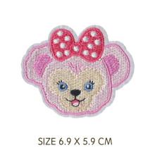 Remendos de bordado de animais - acessórios para roupas infantis