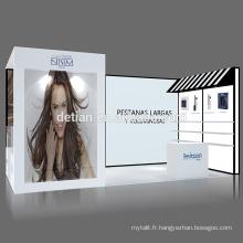 L'offre de Detian 10x20ft 10x10ft présentoir foire commerciale équipement