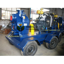 Mobile Diesel Engine Storm Dewatering Water Pump (10 inch)