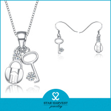 Fashion South American Silver Jewellery Set OEM Accepted (J-0146)