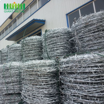Kilang Harga Hot-dipped Galvanized Barbed Wire