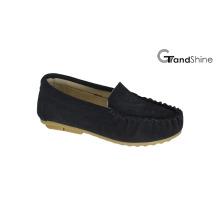 Kids Moccasin Casual Shoes Slip on Footwear