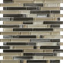 Mosaico de vidrio, Mosaico de mosaico, Mosaico de franja