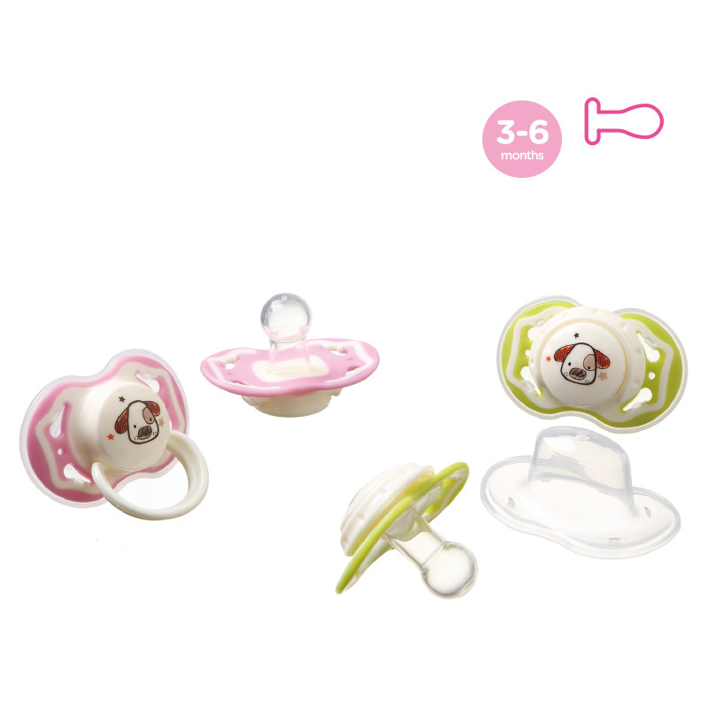 Dual Color Pacifier