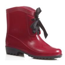trabajo botas de lluvia moda damas cuña zapatos B-813