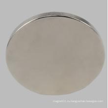Постоянный диск магнита неодимового диска NdFeB для датчика двигателя динамика с никелевым покрытием