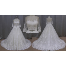 Brilliant Real Made Wedding Dress