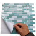 مقاوم للماء 3D Mosaic Peel and Stick Backsplash Tiles