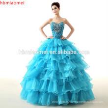 Vivian's Bridal Nouveau film Deluxe adultes Cendrillon robes de mariée bleu Cendrillon robe de bal robe de mariée robe de mariée