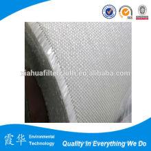 Membrana de alta temperatura tejido de fibra de vidrio tejido de filtro