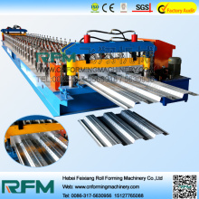 Manufaktur Galvanized Floor Decking Roll Forming Machine