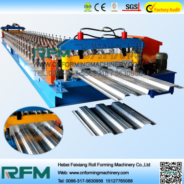 Galvanized Steel Floor Decking Plate Sheet Making Machines