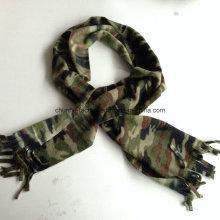 Verkaufen Sie gut preiswerten Großhandelspreis-fördernden Winter-Militärpolar-Vlies-Schal