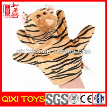 Plush Forest Animal Hand Puppet Educational Toy Educational Tiger