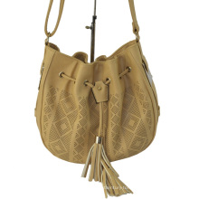 2015 Fashion Ladies Laser Handbag, Drawstring Shoulder Bag