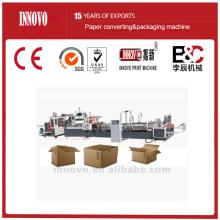 Automatic carton box folder gluer
