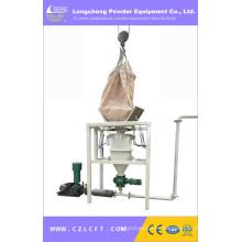Máquina de vaciado del polvo de la bolsa de la tonelada