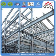 America modern light steel structure building prefab house