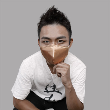 New Design Men Elastic Satin Face Mask