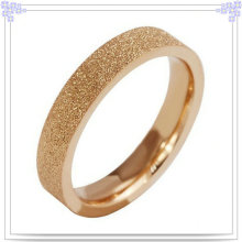 Anillo de dedo de los accesorios de moda de la joyería del acero inoxidable (SR284)