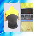 100% poliéster homem de manga curta ciclismo Jersey
