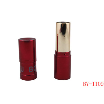 Cilindro de moda Hot Red Lipstick Tube