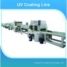 Hochglänzende Möbel / Holz UV-Beschichtungsmaschine