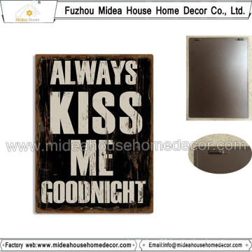 Antique Style Handicraft Decorative Metal Plaque