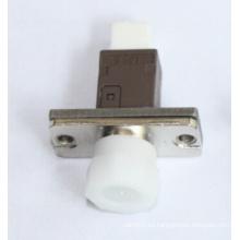 Adaptador óptico de fibra de metal Simplex de Mu-FC
