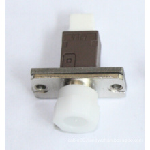 Mu-FC Simplex Metal Fiber Optical Adapter