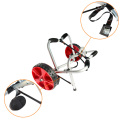 Onefeng OF2204 Silver double kickstands kayak cart