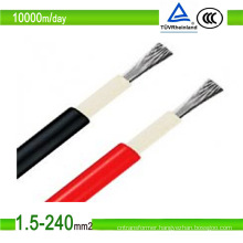 New Best DC PV Cable with Solar Panel