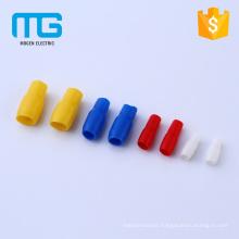 China Supply Small Tube Type Soft PVC Terminal Insulation