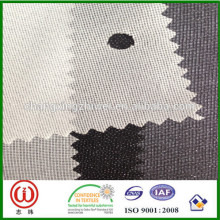 Entretela de seda W282 entrelazado adhesivo tejido de urdimbre