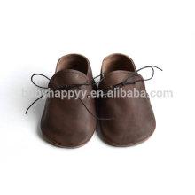 Chaussures de lacet en cuir d'été oxford de haute qualité unisex design