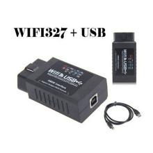 Carro diagnóstico Interface Elm 327 USB WiFi Scanner