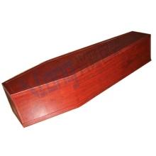 Cercueil démonté avec du papier de Grain de bois