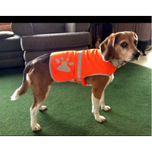 Service dog vest reflective safety vest