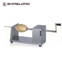 K901 Cheap Industrial Manual Tornado Potato Cutter