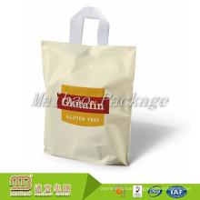 Virgin Material Ldpe/Hdpe Custom Logo Printed Biodegradable Soft Loop Handle Plastic Shopping Bags For Sale
