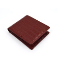 2019 Meistverkaufte Short Crocodile Leather Men Wallet