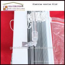 ladder string wand tilt with 25MM Aluminium slats venetian aluminum blinds