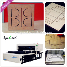 SG1218 Syngood 400w Co2 Laser Cardboard Puzzle Cutting Machine
