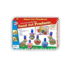 8 * 20 ml de arena de color de bellas artes (caja de color)